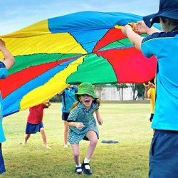 OSHC-Parachute-Play